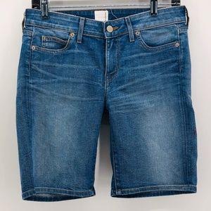 RICH & SKINNY   Skinny Bermuda Jean Shorts 26